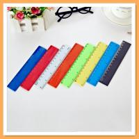 Customized plastic straight ruler