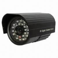 20M IR Distance 6mm Lens 24 LED Infrared CCTV Waterproof Security Cameras Manufactures