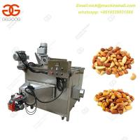 China Gas Type Round Pan Fryer Machine|Factory Price Snack Food Deep Frying Machine|Potato Chips Deep Fryer Machine on sale