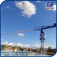 Buy cheap Factory PT5010 HYCM Tower Crane 50M Lifting Jib 4T Max. Load Chart from wholesalers
