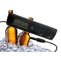 Black Color Refrigerator Freezer Digital Thermometer With 1 Meter Molded Case Probe Manufactures