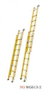 EN131 4.5m 2x8 Fiberglass Extension Ladder Manufactures