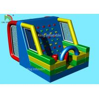Waterproof Inflatable Sports Games Football Penalty Combine Climbing Wall For Adults Manufactures