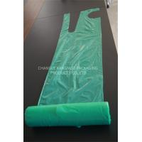 Green Color Plastic Aprons On A Roll Disposable Colored Food PE Aprons Manufactures