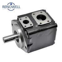 China Rotary Pin Type Hydraulic Oil Pump , Denison Vane Pumps T6C T6D T6E on sale