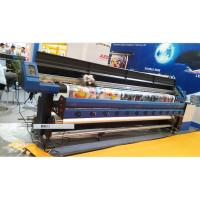 3.2M Large Format Eco Solvent Printer With Two DX7 Micro Piezo Print Head for Flex Banner Manufactures