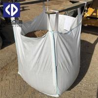 PP Woven Jumbo FIBC Bulk Bags 1000kg Container For Sand / Cement Moisture Proof Manufactures