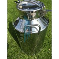 Milk Cans/ Dairy Milk Cans 20L Aluminum milk cans /stainless steel milk transport cans Manufactures