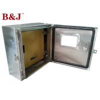 1.2 mm / 1.5 mm Stainless Steel Distribution Box With Customized Mounting Plate Manufactures