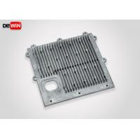 Smooth Cast Surface Aluminium Heat Sink Plate High Pressure ADC12 Die Casting Manufactures