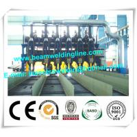 Multi Pole Longitudinal H Beam Welding Line for Shipyard Welding