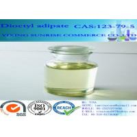 Buy cheap Dioctyl Adipate Plasticizer CAS 123-79-5 Light Yellow C22H42O4 Cold Resistant from wholesalers