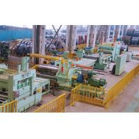 High Strength Sheet Metal Slitter Machine Straight Edged Recoiling Ф360mm Blade Shaft Manufactures
