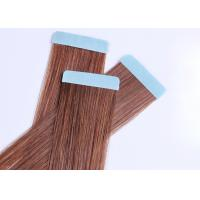 Soft Feeling Tape In Human Hair Extensions Skin Weft Comb Easily Comfortable To Wear Manufactures