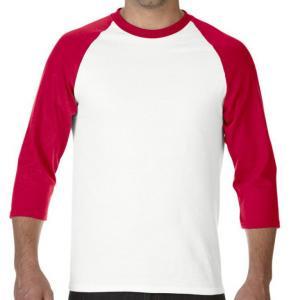 100% soft feeling custom raglan baseball shirts wholesales