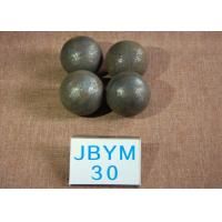 Cheap Long Working Life forged steel grinding balls , Unbreakable steel balls for ball mill for sale