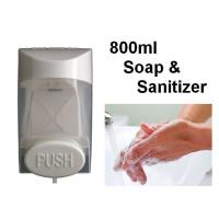 Wall Mount 800ml Touch Soap Dispenser ABS Plastic Material For Bathroom / Restroom Manufactures