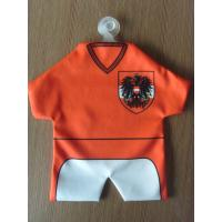 Special Souvenir Jersey Towel , Promotional Gift Football Jersey Mini Towel Manufactures