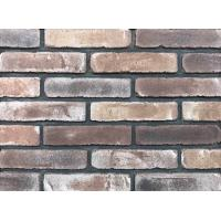 Antique Thin Brick Veneer Through Molded / Sintered With Different Colors Mixed Manufactures