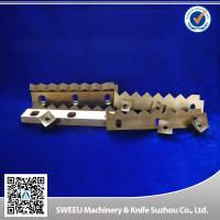 HRC 56-58 Plastic Cutting Blade / Industrial Shredder Blades Small Thermal Deformation Manufactures