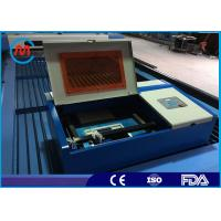 40W Co2 Laser Tube Table Top Mini Laser Cutting Machine For Metal High Speed Manufactures