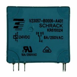 RELAY GEN PURPOSE SPDT 8A 24V V23057B 6A401 Manufactures