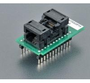 Original ELNEC SOCKET 70-0712 DIL14W/TSSOP14 ZIF 170mil , ZIF TSSOP14, OpenTop type Bottom 2x12 pins, square, 0.6x0.6m Manufactures