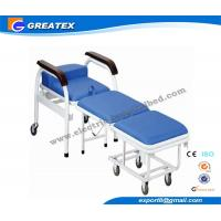 Adjustable Folding Stainless Steel Accompany Hospital couches Commercial Furniture Manufactures