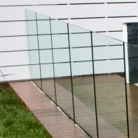 Frameless Deck Railing Glass Systems 10mm Transparent Tempered Manufactures