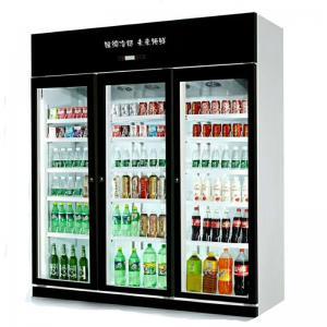 Low Price Wholesale Commercial Fridge Double Door Supermarket Compressor Refrigerant Equipment Manufactures