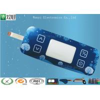 China Standard Membrane Keypad Touch Sensitive Switch With Acrylic / PC / Glass Overlay on sale