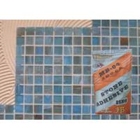 White Sandstone Heat Resistant Mosaic Tile Adhesive For Bathroom / Building Manufactures