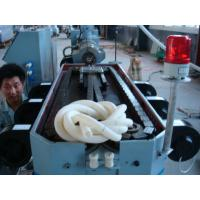 Electric Wire Protection Corrugated Pipe Machine With Coiler , CE Approval