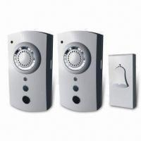 200-240V AC Wireless Door Bell, Supports Remote Control and 35 Different Songs/ Signals Manufactures