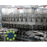 15KW Carbonated Soft Drink PET or Glass Bottle monoblock rinsing filling capping machine Manufactures