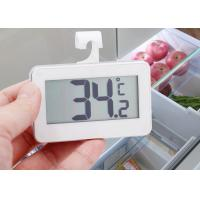 ABS Plastic Refrigerator Freezer Thermometer With Large LCD Display Screen Manufactures
