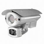 Waterproof IP IR Camera, CCTV Box Cameras Support 720p, D1, CIF, QCIF Customized Manufactures