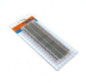Universal Solderless Bread Board Transparent Full Nickel Plating 165x55x10 mm Manufactures