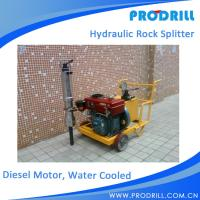 Buy cheap Diesel Powered Hydraulic Demolish Rock and Concrete Splitter from wholesalers