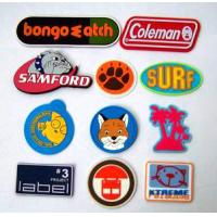 hot sale round silicone rubber label Manufactures