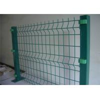 Hot dipped anti climbe weld wire mesh fence panels for construction or agriculture Manufactures
