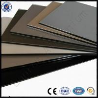 Quality ACP High Quality 3mm 4mm PVDF Coated Facade Aluminium Composite Panel for sale