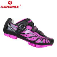 Adjustable Buckle Ladies Cycle Touring Shoes , Girls Cycling Shoes OEM / ODM Accept Manufactures