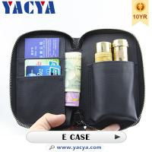 Black Electronic Cigarettes Accessories E Cigarette Carrying Case Manufactures