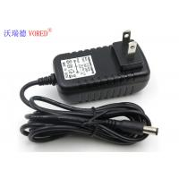 China Network Monitor Camera 12V 1A AC DC Switching Power Supply Optional DC Connector Size on sale
