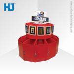 Promotion Merchandise Dump Bin Display POS Cardboard ISO RoHs Manufactures