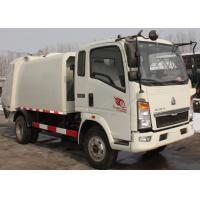 Waste Disposal Vehicles Garbage Collection Truck , Compressed Refuse Compactor Truck Manufactures