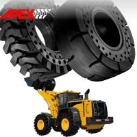 APEX 23.5-25 Solid Tire, Cushion Tyre for Wheel Loader, Integrated Tool Carrier, Elevating Motor Scraper Manufactures