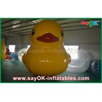 China Adorable Pvc Material 5m Custom Inflatable Products Model Inflatable Yellow Duck on sale