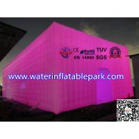 Commercial Inflatable Lighting Tent , Photo Studio Box Light Cube Tent Manufactures